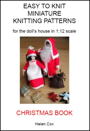 Bitstobuy Miniature Knitting Patterns For The Dolls House Book